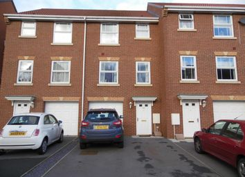 Thumbnail 4 bed town house for sale in Charlton Close, Billingham