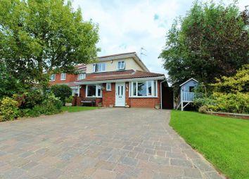 Thumbnail 3 bed detached house for sale in Aspendale Close, Longton, Preston