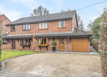 Thumbnail 3 bed semi-detached house to rent in Virginia Water, Surrey