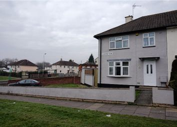 Thumbnail 3 bedroom semi-detached house for sale in Cokayne Road, Leicester