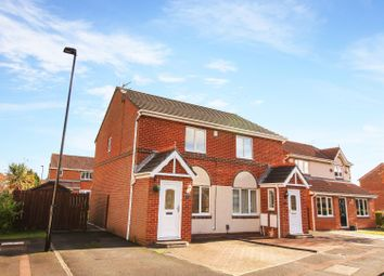 Thumbnail 2 bed semi-detached house for sale in Holyfields, West Allotment, Newcastle Upon Tyne