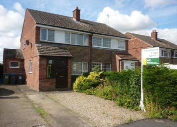 Thumbnail 3 bedroom semi-detached house for sale in Chantry Road, Romanby, Northallerton