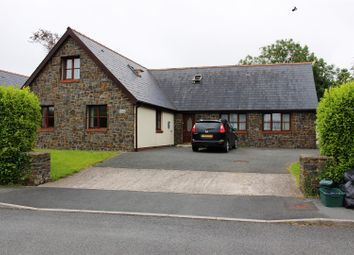 Thumbnail 5 bed detached bungalow for sale in Cleddau Close, Llangwm, Haverfordwest