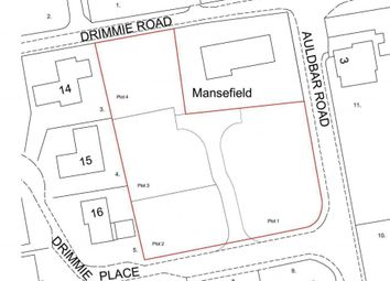 Thumbnail Land for sale in Building Plots, Auldbar Road, Letham, Forfar