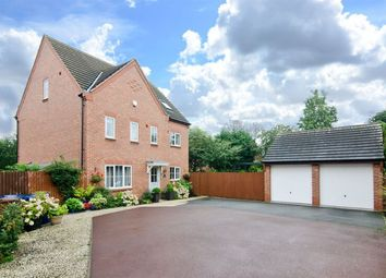 Thumbnail 5 bed detached house for sale in Barlow Drive, Lichfield, Staffordshire