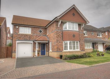 Thumbnail 4 bed detached house for sale in Deepdale Drive, Delves Lane, Consett