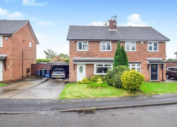 Thumbnail 3 bed semi-detached house for sale in Royal Oak Drive, Selston, Nottingham