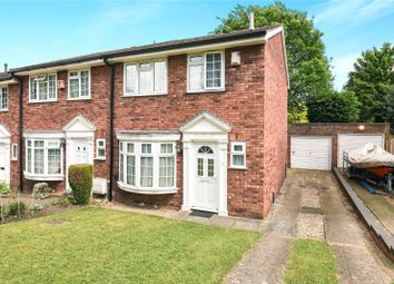 Thumbnail 3 bed end terrace house for sale in Silverbirch Close, Ickenham, Uxbridge, Middlesex