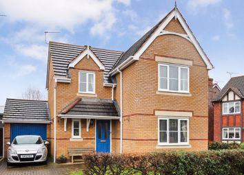Thumbnail 4 bed detached house for sale in Warwick Road, Lower Bullingham, Hereford