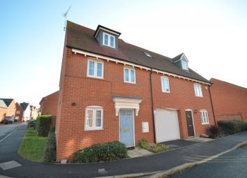Thumbnail 3 bed property to rent in Petronel Road, Buckingham Park, Aylesbury