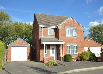 Thumbnail 3 bed detached house for sale in Poplar Close, Ruskington, Sleaford