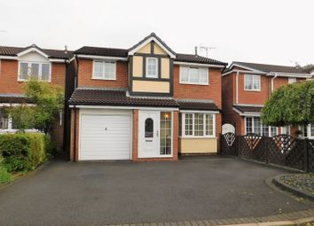 Thumbnail 4 bed detached house for sale in Briar Close, Hugglescote, Coalville