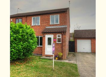 Thumbnail 3 bed semi-detached house for sale in Hillrise Close, Beccles