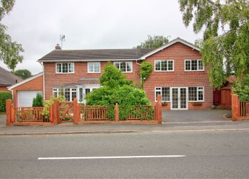 Thumbnail 5 bed detached house for sale in Worthington Lane, Newbold Coleorton, Coalville