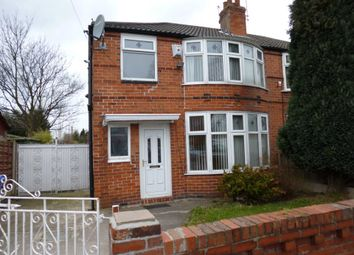 Thumbnail 3 bed semi-detached house to rent in Hatherley Road, Withington, Manchester