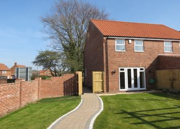 Thumbnail 2 bedroom semi-detached house to rent in Weighbridge Close, Kirkbymoorside, York