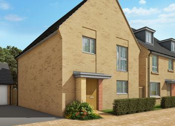 "Thumbnail 3 bed semi-detached house for sale in ""The Elsworth"" at Heron Road, Northstowe, Cambridge"
