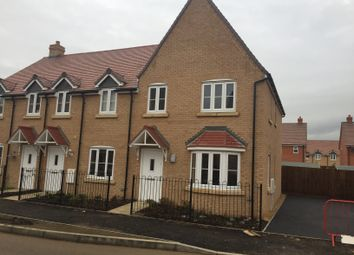 Thumbnail 3 bedroom terraced house to rent in Sanger Avenue, Biggleswade