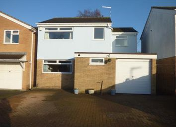 Thumbnail 4 bed detached house for sale in Crediton Close, Wigston, Leicestershire