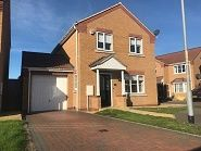 Thumbnail 4 bed detached house to rent in Jubilee Close, Cherry Willingham