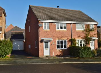 Thumbnail 3 bed semi-detached house for sale in Lingfield Road, Norton Canes, Cannock