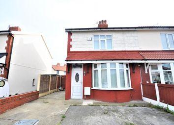 Thumbnail 2 bed semi-detached house for sale in Chiselhurst Avenue, Blackpool, Lancashire