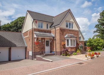 Thumbnail 4 bed detached house for sale in Lodge Gardens, Crownhill, Plymouth