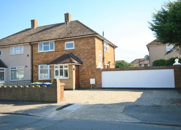 Thumbnail 3 bed semi-detached house to rent in Swale Close, Aveley, South Ockendon