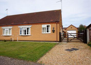 Thumbnail 2 bed semi-detached bungalow for sale in Robert Balding Road, Dersingham, Kings Lynn