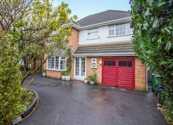 Thumbnail 4 bedroom detached house for sale in Copse Close, Oadby, Leicester