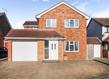 Thumbnail 4 bed detached house for sale in Fowey Close, Lordswood, Chatham