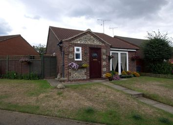 Thumbnail 2 bedroom bungalow for sale in Hawthorn Rise, Mundesley, Norwich