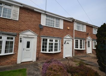 Thumbnail 2 bed terraced house to rent in Northwold Avenue, West Bridgford, Nottingham