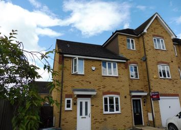 Thumbnail 3 bed end terrace house to rent in Ridgely Drive, Leighton Buzzard