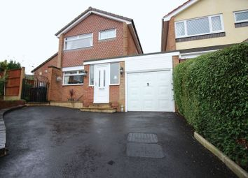 Thumbnail 3 bed link-detached house for sale in Coopers Close, Leek, Staffordshire