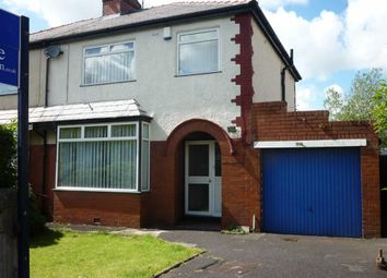 Thumbnail 3 bedroom semi-detached house to rent in Cadley Causeway, Fulwood, Preston