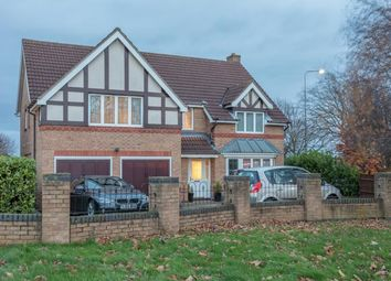 Thumbnail 5 bed detached house for sale in Tattershall Close, Grantham