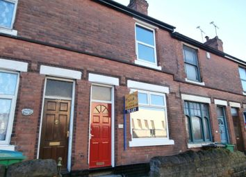 Thumbnail 2 bed terraced house to rent in Carlton Road, Nottingham