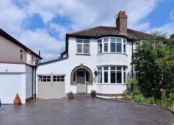 Thumbnail 3 bed semi-detached house for sale in Stapylton Avenue, Harborne, Birmingham