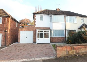 Thumbnail 3 bed semi-detached house for sale in Coronation Road, Earl Shilton, Leicester