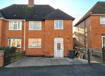 Thumbnail 3 bed semi-detached house for sale in Digby Close, Leicester