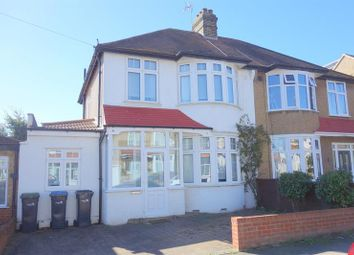 Thumbnail 4 bedroom semi-detached house for sale in Hillside Crescent, Enfield