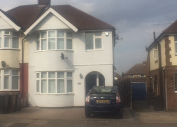 Thumbnail 3 bed semi-detached house to rent in Stanford Road, Luton