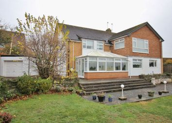 Thumbnail 4 bed detached house for sale in Station Road, Heswall, Wirral