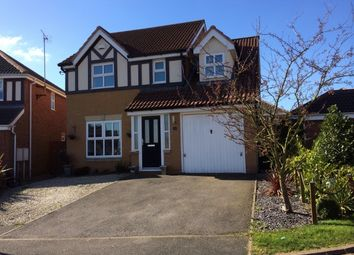 Thumbnail 4 bed detached house to rent in Mann Close, Thorpe Astley