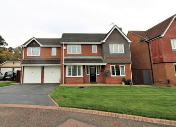 Thumbnail 4 bed detached house for sale in Greenrigg Close, Faverdale, Darlington