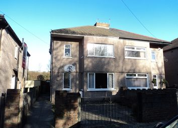 Thumbnail 3 bedroom semi-detached house for sale in Lansdowne Avenue West, Canton, Cardiff