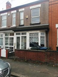 Thumbnail 2 bed terraced house to rent in Mason Road, Coventry