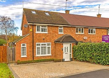 Thumbnail 3 bed end terrace house for sale in Chalkdell Fields, St. Albans, Hertfordshire