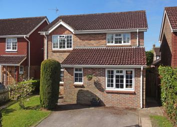 Thumbnail 4 bed detached house for sale in Coltsfoot Road, Lindford, Bordon